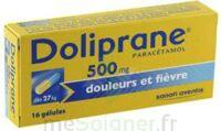 DOLIPRANE 500 mg Gélules B/16 à VILLEFONTAINE