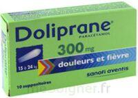 DOLIPRANE 300 mg Suppositoires 2Plq/5 (10) à VILLEFONTAINE