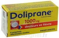 DOLIPRANE 1000 mg Comprimés effervescents sécables T/8 à VILLEFONTAINE