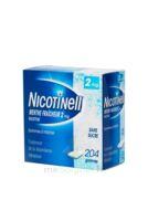 NICOTINELL MENTHE FRAICHEUR 2 mg SANS SUCRE, gomme à mâcher médicamenteuse Plq/204 à VILLEFONTAINE