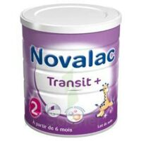 NOVALAC TRANSIT + 2 Lait en poudre 2ème âge B/800g à VILLEFONTAINE