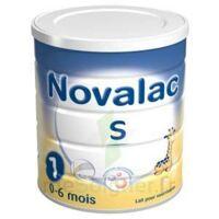 NOVALAC S 1 Lait en poudre satiétant 1er âge B/800g à VILLEFONTAINE