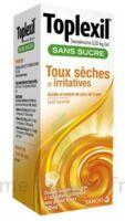 TOPLEXIL 0,33 mg/ml sans sucre solution buvable 150ml à VILLEFONTAINE