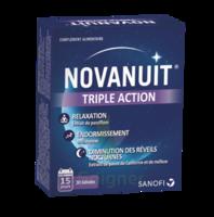 NOVANUIT Triple action Gélules B/30 à VILLEFONTAINE
