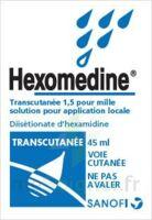 HEXOMEDINE TRANSCUTANEE 1,5 POUR MILLE, solution pour application locale à VILLEFONTAINE