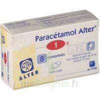 PARACETAMOL ALTER 1 g, comprimé à VILLEFONTAINE