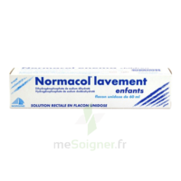 NORMACOL LAVEMENT ENFANTS, solution rectale, récipient unidose à VILLEFONTAINE