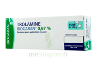 TROLAMINE BIOGARAN 0,67 % Emuls appl cut T/186g à VILLEFONTAINE