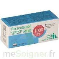 PARACETAMOL TEVA SANTE 1000 mg, comprimé effervescent sécable à VILLEFONTAINE
