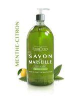 Beauterra - Savon de Marseille liquide - Menthe/Citron 1L à VILLEFONTAINE