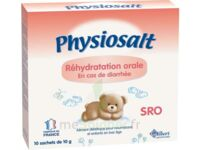 PHYSIOSALT REHYDRATATION ORALE SRO, bt 10 à VILLEFONTAINE
