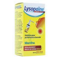 LYSOPAÏNE AMBROXOL 17,86 mg/ml Solution pour pulvérisation buccale maux de gorge sans sucre menthe Fl/20ml à VILLEFONTAINE