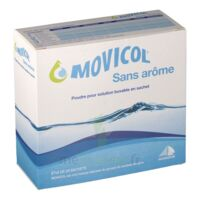 MOVICOL SANS AROME, poudre pour solution buvable en sachet à VILLEFONTAINE