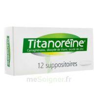 TITANOREINE Suppositoires B/12 à VILLEFONTAINE