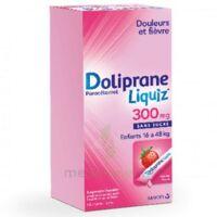 Dolipraneliquiz 300 mg Suspension buvable en sachet sans sucre édulcorée au maltitol liquide et au sorbitol B/12 à VILLEFONTAINE