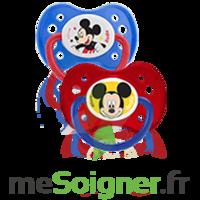 Dodie Disney Sucette anatomique silicone +6mois Mickey Lot/2 à VILLEFONTAINE