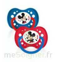 Dodie Disney sucettes silicone +18 mois Mickey Duo à VILLEFONTAINE