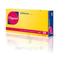 Oligosol Lithium Solution buvable en ampoule ou en récipient unidose 28Amp/2ml à VILLEFONTAINE