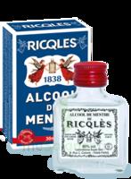 Ricqles 80° Alcool de menthe 30ml à VILLEFONTAINE