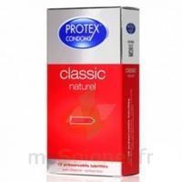 Protex Classic Naturel Préservatif avec réservoir B/12 à VILLEFONTAINE