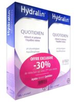 Hydralin Quotidien Gel lavant usage intime 2*200ml à VILLEFONTAINE