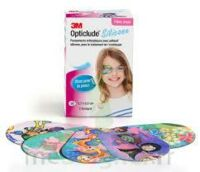 OPTICLUDE DESIGN GIRL Pansements orthoptiques silicone maxi 5,7x8cm B/50 à VILLEFONTAINE