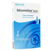DESOMEDINE 0,1 % Collyre sol 10Fl/0,6ml à VILLEFONTAINE