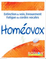 Boiron Homéovox Comprimés à VILLEFONTAINE