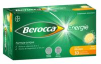BEROCCA ENERGIE Comprimés effervescents orange B/30 à VILLEFONTAINE